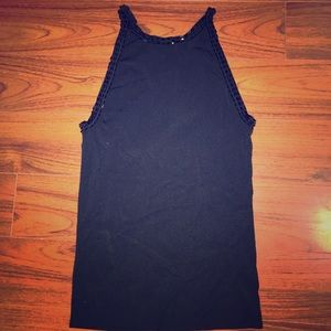 EUC👚 GAP STRETCH | Black Top